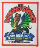The Rolling Stones - 'Dragon Tongue' Printed Patch